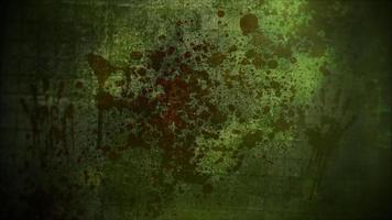 mystisk skräckbakgrund med mörkt blod och rörelsekamera video