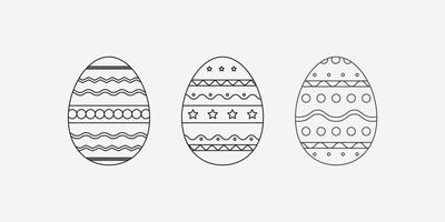 Easter egg icon. Novruz traditional pastry vector icon