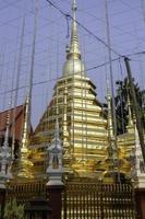 templo público budista tailandés en chiang mai