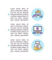 Small business help concept icon with text vector