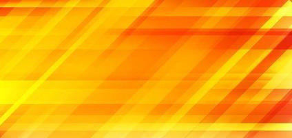 Fondo de movimiento de velocidad borrosa de color degradado amarillo y naranja abstracto. vector