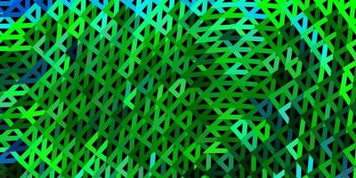Dark multicolor vector abstract triangle template.