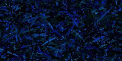 Dark multicolor vector texture with random triangles.