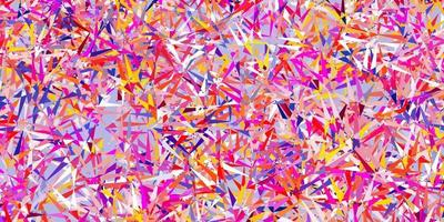 Light multicolor vector background with polygonal forms.
