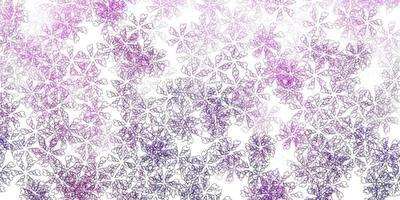 Light pink vector abstract artwork with leaves.