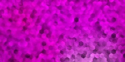 Light pink vector template in a hexagonal style.