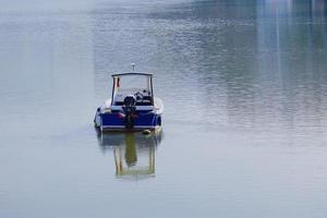 A boat near a seaport photo