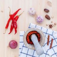 Ground chili paste