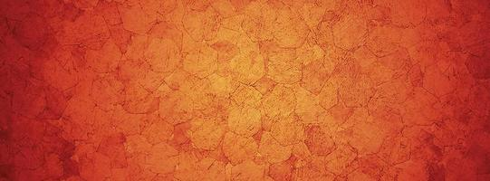 Red cement or concrete wall for background or texture photo