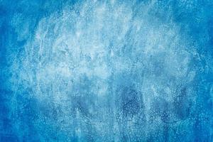 Muro de cemento o hormigón azul para el fondo o la textura foto