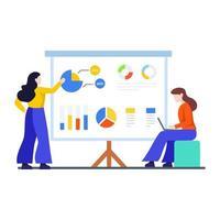 Business Team Presentation Concept vector
