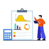 Return on Investment Concept vector