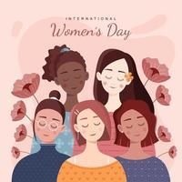 International Women's Day Design vector