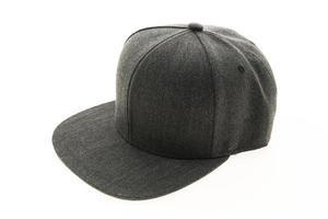 Baseball hat on white background photo