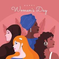 Happy Women's Day Design vector