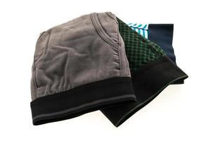 nueva ropa interior masculina sobre fondo blanco foto