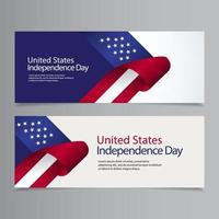 Happy United States Independence Day Celebration Vector Template Design Illustration