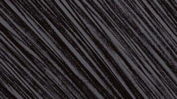 beweging abstracte geometrische witte lijnen, zwarte textielachtergrond video