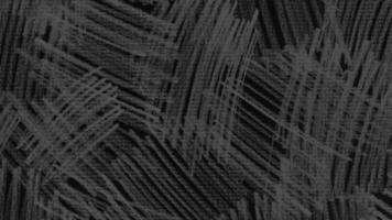 beweging abstracte geometrische witte lijnen, zwarte textielachtergrond