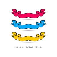 Ilustración de diseño de plantilla de vector de etiqueta de compilación de cinta