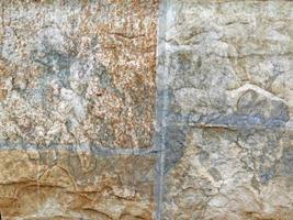roca o muro de piedra para el fondo o la textura