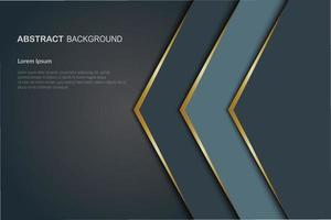 overlap layer paper cut background vector