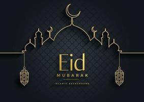 Eid Mubarak Vector Art Icons And Graphics For Free Download