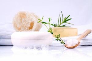 Organic rosemary soap