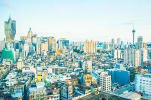 Cityscape of Macau city, China photo
