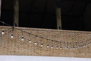 Decorative string light bulbs
