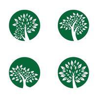 Tree logo images design vector