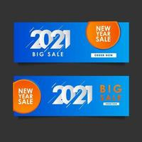 Happy New Years 2021 Sale Celebration Vector Template Design Illustration