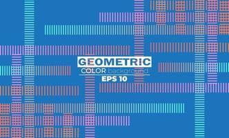 Fondo abstracto moderno con formas geométricas y líneas. vector