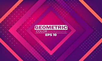 Modern abstract background with geometric shapes and lines vector