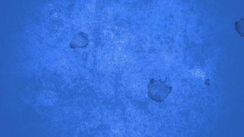 beweging abstracte blauwe plek en spatten, kleurrijke grunge achtergrond video