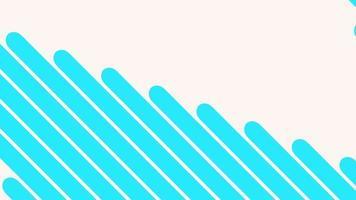 Bewegung Intro geometrische blaue Linien, abstrakter Hintergrund