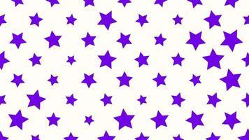 Bewegung Intro geometrische blaue Sterne, abstrakter Hintergrund