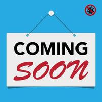 Coming soon business sign