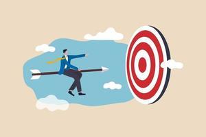 Business success achievement concept vector