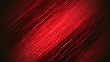 Lignes rouges de mouvement abstrait avec bruit dans le style des années 80, animation rétro en boucle video