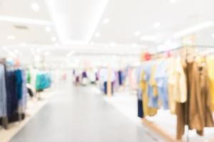 Fondo de centro comercial desenfocado abstracto