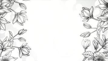 closeup flores, fundo de casamento de movimento