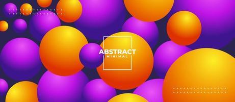 Dynamic Bubble Gradient color Background, bubble gradient vector