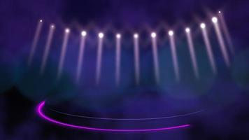 movimento luzes de discoteca coloridas, fundo abstrato video
