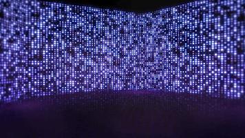 Movimiento de luces de discoteca de colores, fondo abstracto video