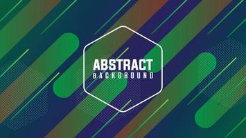 new abstract background with green color blend vector