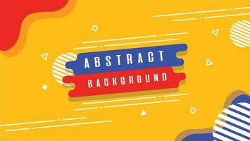 modern abstract background with elegant color blend vector