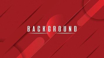 Fondo abstracto moderno en rojo elegante vector