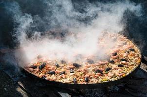 paella comida tradicional foto
