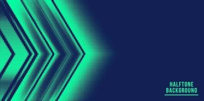 abstract arrow halftone background vector